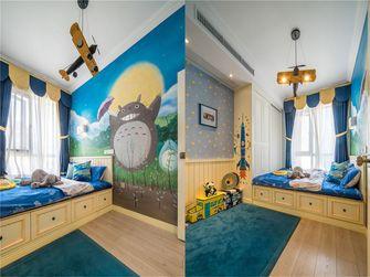 90平米三室两厅田园风格儿童房图片