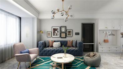130平米三室两厅法式风格客厅图