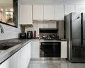 140平米复式现代简约风格厨房装修案例