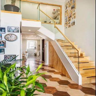 80平米复式混搭风格楼梯间图