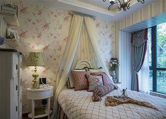 130平米三室三厅田园风格卧室效果图