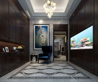 140平米四室两厅英伦风格玄关设计图