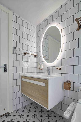 100平米三室一厅混搭风格卫生间装修效果图