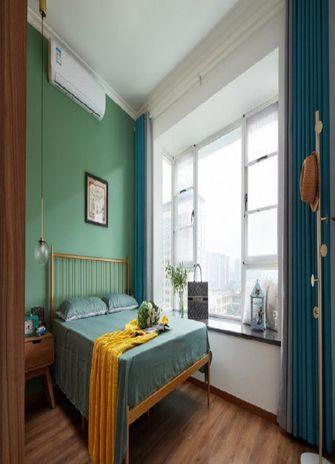 80平米三室一厅混搭风格卧室欣赏图