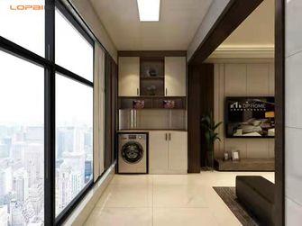 120平米三室一厅现代简约风格阳台图