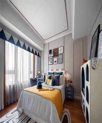 140平米三室两厅新古典风格儿童房效果图