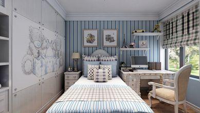 90平米三室一厅地中海风格卧室装修案例