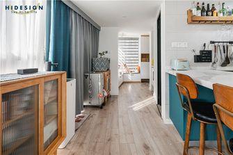 70平米一室两厅混搭风格走廊装修案例