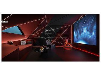 140平米复式美式风格影音室图片