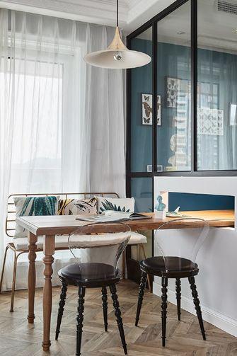 130平米英伦风格餐厅装修效果图