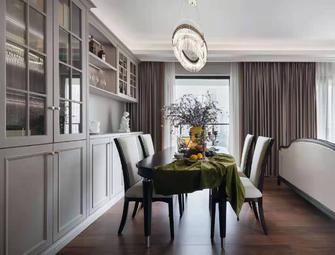 100平米四室一厅美式风格餐厅设计图