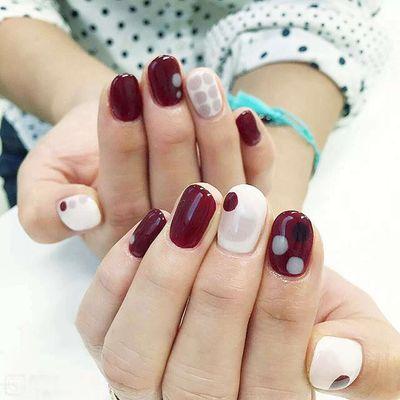 韩式美妆美甲图图片
