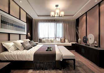 120平米一室两厅中式风格卧室图片大全