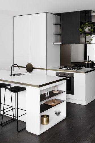 50平米一居室北欧风格厨房图片