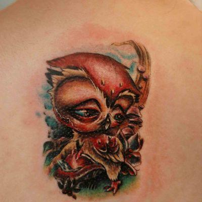 吸血鬼刺青纹身款式图