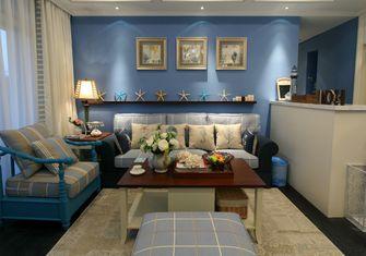 70平米一室一厅地中海风格客厅图片大全