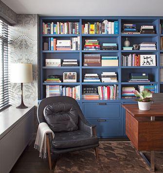 100平米三北欧风格书房图片