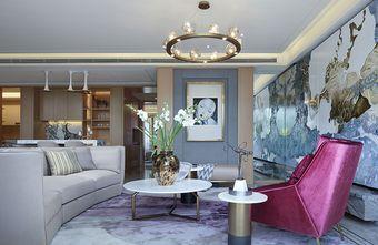 140平米四室两厅英伦风格客厅装修案例