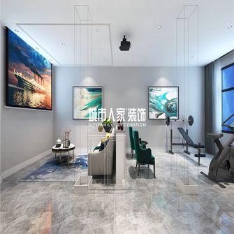 140平米复式美式风格健身室装修案例