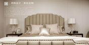 140平米四美式风格卧室设计图