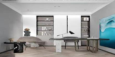 豪华型140平米四现代简约风格书房图片