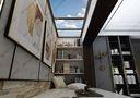 140平米复式现代简约风格楼梯间装修图片大全