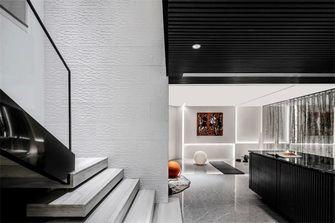 140平米三室两厅混搭风格楼梯间图片大全