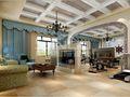 豪华型140平米别墅地中海风格健身室图