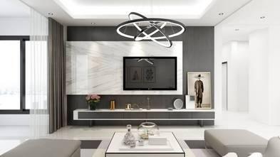 经济型140平米三室两厅现代简约风格客厅效果图