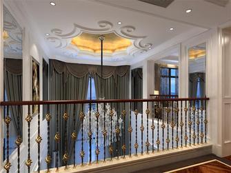 140平米复式欧式风格阁楼图