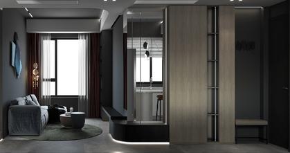 20万以上80平米一居室现代简约风格卧室效果图