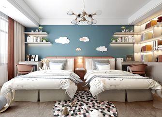 140平米四室一厅中式风格卧室装修图片大全