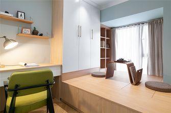 80平米三室两厅新古典风格书房设计图