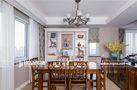 140平米三室两厅美式风格阁楼装修效果图