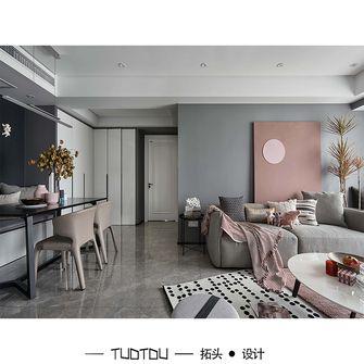 豪华型130平米三混搭风格客厅图片
