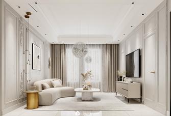 100平米三室两厅法式风格客厅效果图