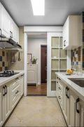 100平米三室两厅美式风格厨房设计图