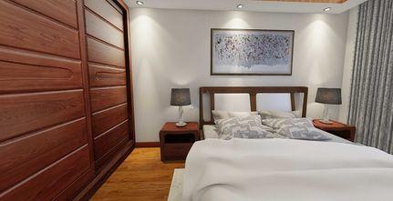 70平米中式风格卧室装修效果图
