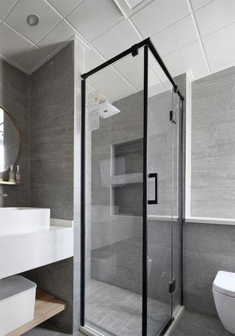 130平米四日式风格卫生间设计图