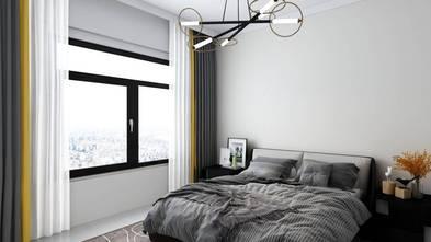 经济型140平米三室两厅现代简约风格卧室效果图