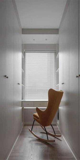 110平米三室一厅北欧风格衣帽间图片