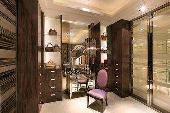 120平米三室两厅东南亚风格衣帽间设计图