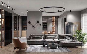 140平米三室三厅混搭风格客厅图片大全