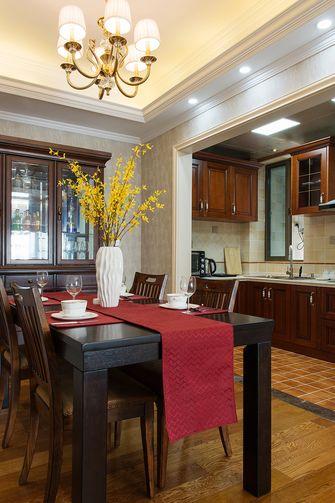 120平米三美式风格厨房设计图