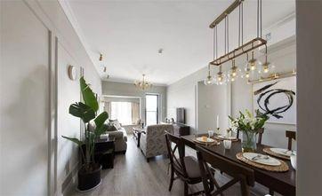 80平米三室一厅美式风格餐厅图