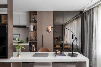 110平米四室两厅现代简约风格书房装修案例