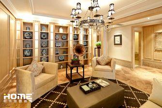 140平米四室两厅欧式风格健身室装修图片大全