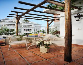 140平米别墅地中海风格阳光房装修图片大全
