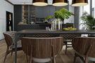 80平米公寓现代简约风格餐厅欣赏图