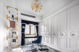 110平米三室两厅法式风格衣帽间图片